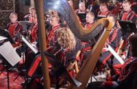 Orkiestra podczas występu - link dotyczący zniżek w sferze kultury