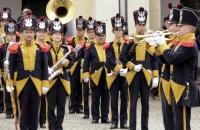 Orkiestra podczas uroczystości miejskich