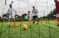 Mecz piłki nożnej - link do informacji na temat zniżek w sferze rekreacji i sportu
