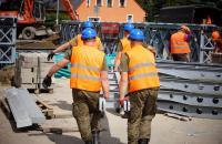 prace mostowe